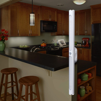 30 см USB Перезаряжаемый светодиодный светильник для шкафа свет движения PIR Ночной светильник с датчиком беспроводной кухни спальни шкаф свет...
