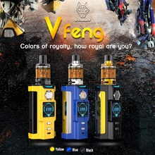 100% Authentic & Original newest vape kit Snowwolf Vfeng electronic cigarette 230W cool handle with atomizer