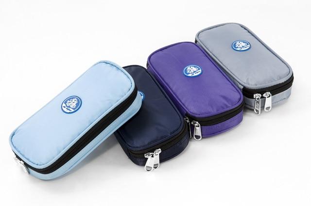 Insulin Cooler Bag For Diabetes Travel Case Medical Keep Cooler For 24 Hours WithTemperature 4-24 Celsius Display &Ice Gel Packs