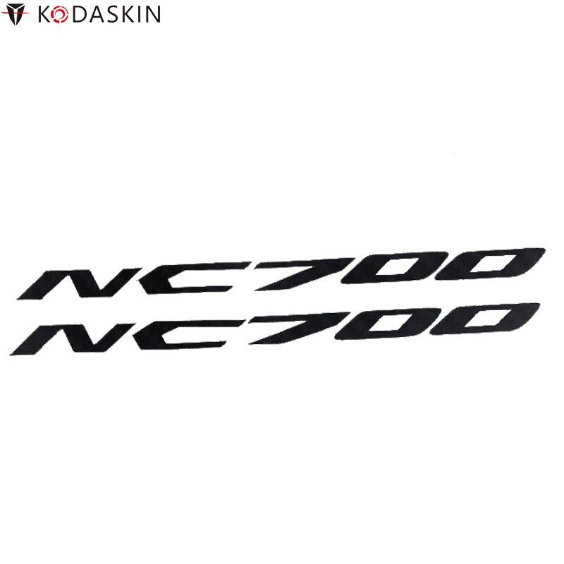 KODASKIN Carbon Stickers Balck Motorcycle Decals for HONDA