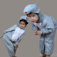 Children Kids Baby Boy Girl Toddler Cartoon Animal Mouse Costume Performance Clothes Jumpsuit Children's Day Halloween Costumes