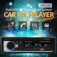 SWM Car Radio For Mp3 Player Autoradio 12V Lcd Diaplay Dual Usb Aux Bluetooth Cassette Oto Teypleri MP3/WMA/FLAC/WAV