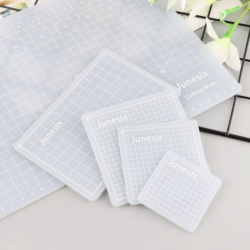 Translucent Cutting Pad Hand Account Sticker Scraping Compound PVC Multi-Purpose Cutting Pad Rubber Stamp Cutting Board
