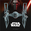 Free Shipping Star Wars Remote control aircraft Alloy toy model  Tie Fighter &Millennium Falcon