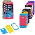 Para iphone 6 6 s caso cubierta de cuerpo entero protector de pantalla completa caja de la pc delgada cáscara a prueba de golpes casos piel para apple iphone 6/6 s plus