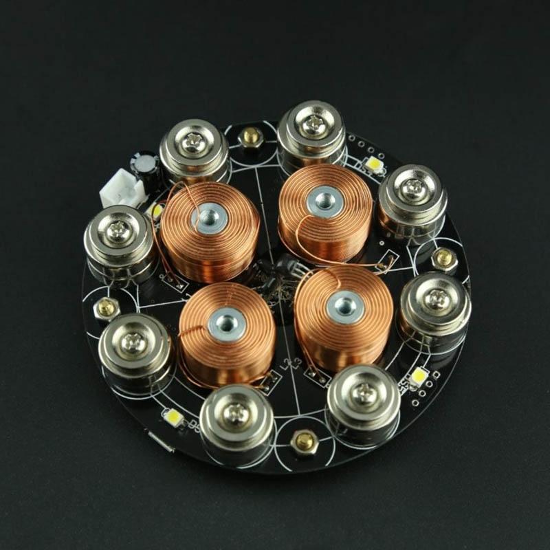 Lévitation magnétique numérique 5 V alimentation charge lourde lévitation magnétique haute efficacité économie d'énergie - 6
