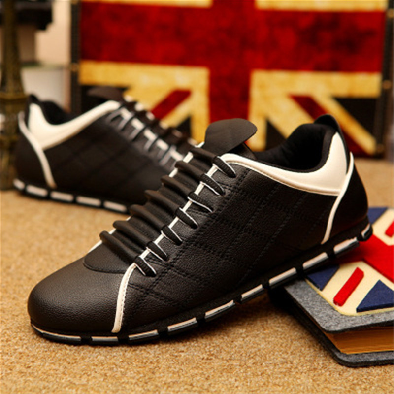 KipeRann herren mokassin schuhe schwarz herren schuhe atmungsaktiv casual Italienischen skateboard schuhe komfortable große größe fahren schuhe
