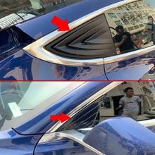 Для Tesla модель 3 карбоновое волокно стиль A и C боковое зеркало крышка отделка