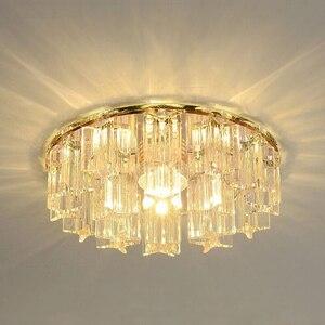 Image 3 - LAIMAIK Crystal LED Ceiling Light 3W 5W AC90 260V Modern LED Crystal Lamp Aisle Corridor Light Porch Hall LED Ceiling Lighting