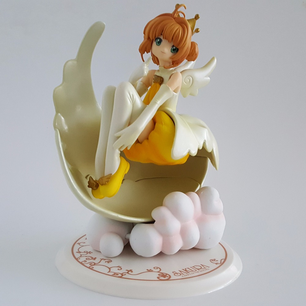 Sakura Card Captor Action Figures Anime Cardcaptor Magic Girl Sakura 18cm Collectible Model Toys