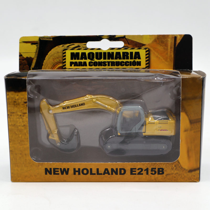 Maquinaria Para Construccion 1/87 New Holland E215B Excavator Engineering Vehicles Diecast Models Edition Collection