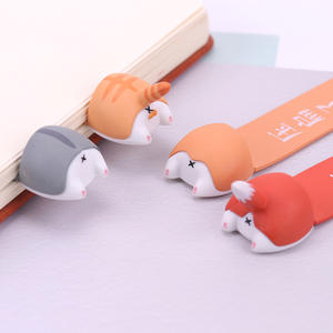 Bookmark Hamster Gift Korean Stationery Cute Kawaii Creative-Items Lovely Dog Cat PVC