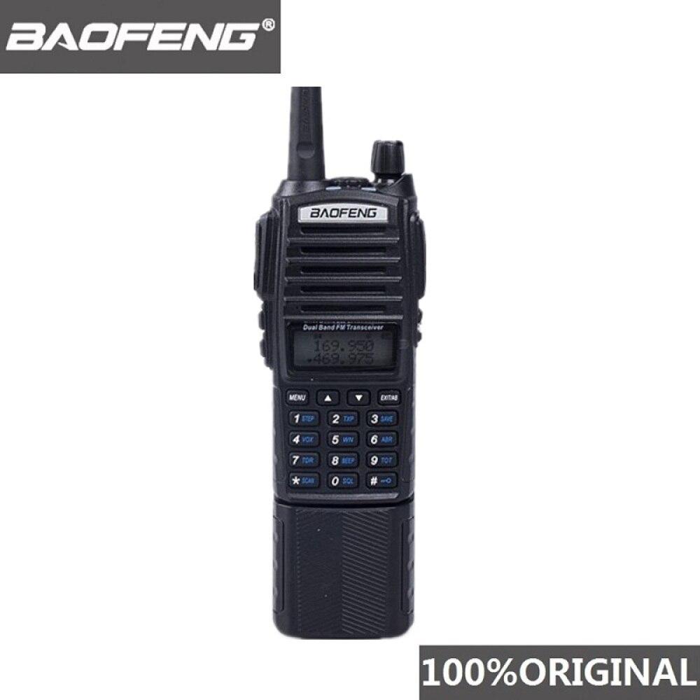 100% Original Baofeng UV-82 Walkie Talkie 3800mAh Battery Dual Band UV82 Pofung Two-Way Radio Portable FM Ham Transceiver