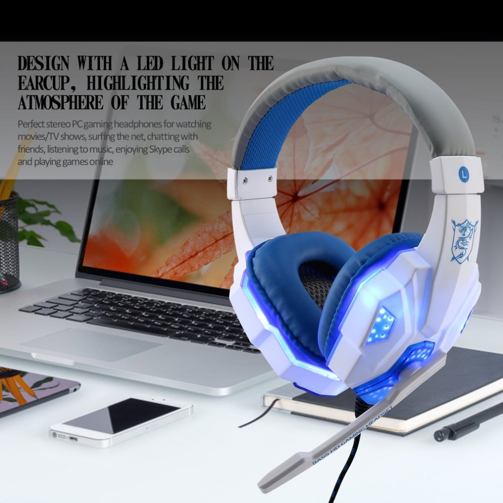 Gaming Headset With Mic Sound Clarity