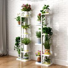 Новая 6 слоев Красивая стоячая Цветочная полка. Гостиная и растения на балконе полки. Подставки для цветочных горшков с деревянным растением