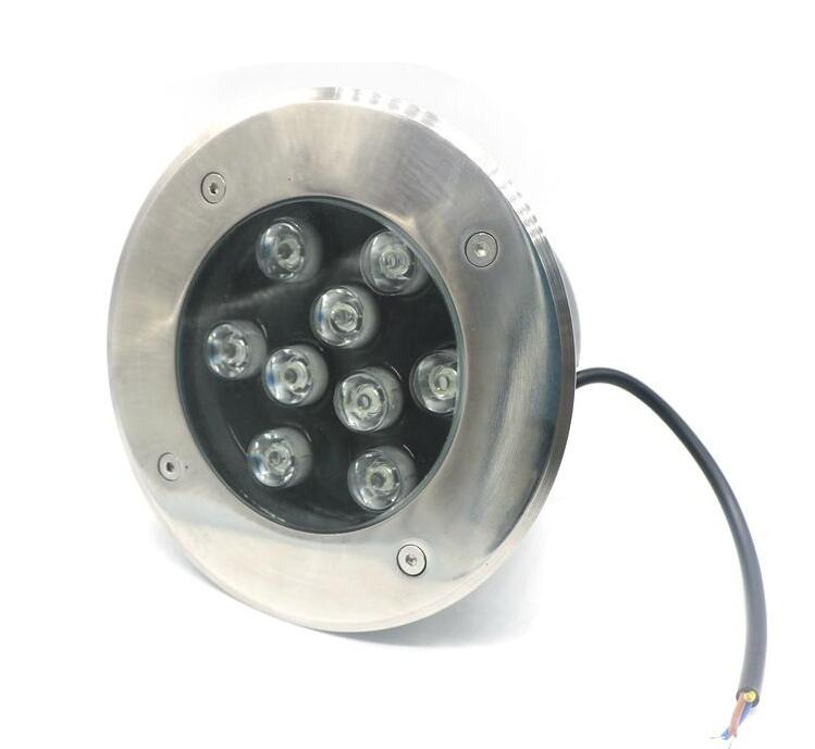 9wled Underground Garden Lights Outdoor 12v Deck Lights Spot Ip67 Floor Recessed Garden Decoration Lamps Stair Barrier Inground