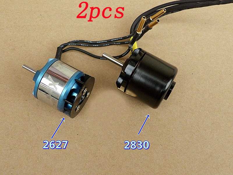 Remote Control Toys The Cheapest Price 2pcs Rc Model Aircraft Brushless Motor 2627 Kv4200 2830 Kv4000 Three Phase Outrunner Motor Ndfeb Strong Magnet Outer-rotor Motor Removing Obstruction Parts & Accessories