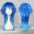 HAIRJOY Anime Dramatical Murder DMMD Seragaki Aoba Cosplay Wig Two Tone Blue Ombre Synthetic Hair  Costume Party Wigs