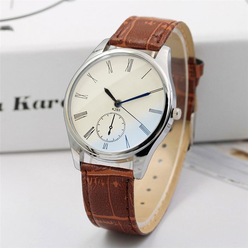 Fashion Business Men Male Quartz Wristwatch Gift Military Sport Luxury Casual Quartz Analog Wrist Watch Band Bracelet 4A analog watch