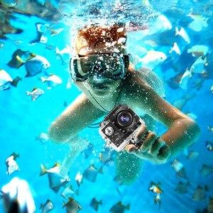 Image 2 - 1080P HD في الهواء الطلق كاميرا عمل رياضية صغيرة كاميرا ip مقاومة للمياه كام DV gopro نمط الذهاب برو مع شاشة كامل اللون مقاومة للماء