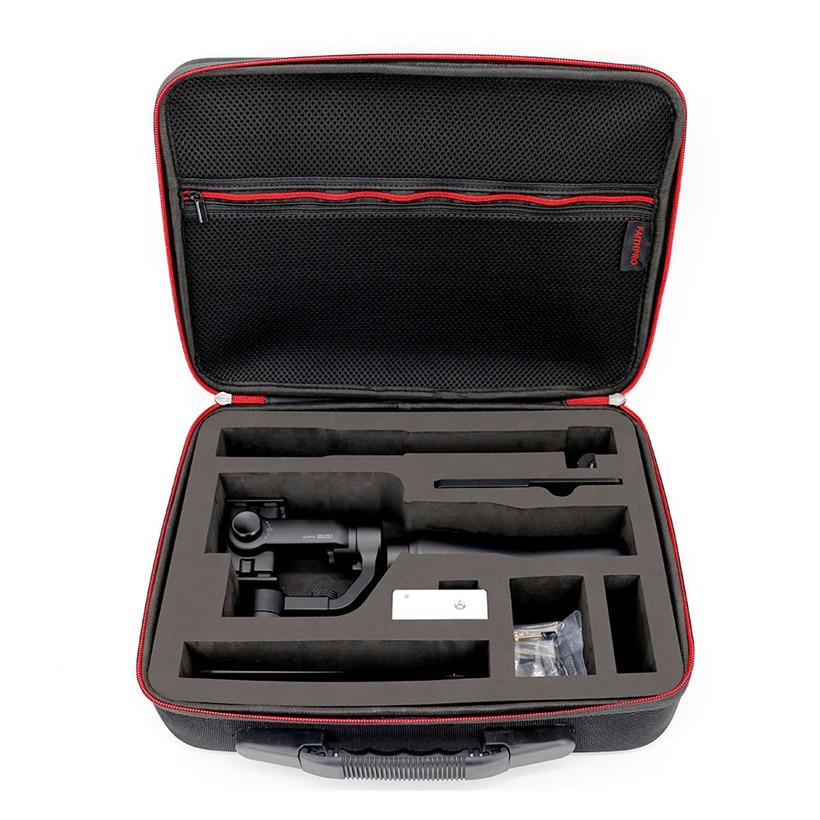 Shoulder Smartphone Gimbal Carrying Hard Bag Case Box For Gopro Zhiyun Smooth-Q drop shipping 1121 free shipping