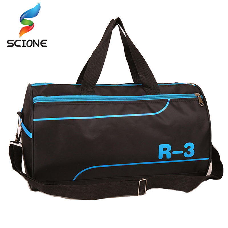 2018 Top Quality Sport Gym Bag Outdoor Waterproof Handbag Fitness Bag for Men Shoulder Training Camping Female Yoga Duffel Bag top quality nylon outdoor male sport bag new women gym shoulder bag traveling storage handbag for men fitness sports bag