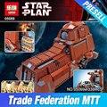 Lepin 05069 Star War Series The Federation Transportation Tank Set 1338Pcs MTT Children Building Blocks Bricks Toys Model 7662