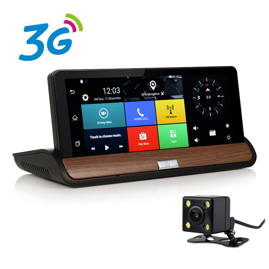 Otstrive 7 inch 3G SIM Card WiFi Car GPS