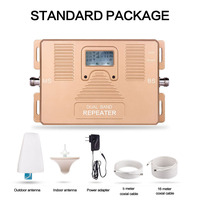 Super Smart LCD Display DUAL BAND IDEN 800 900mhz 2g 4g Smart Mobile Signal Booster Kits