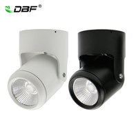 COB 5W 7W 12W 15W LED Downlights Surface Mounted Downlight Ceiling Spot Light Angle Adjustable AC110