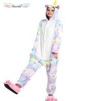 Star Unicorn Pajamas Animal One Piece New Design Party Girls Women Boys Men Adult With Free