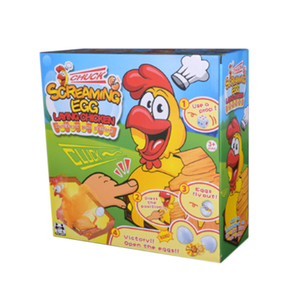 Hen Laying Eggs Toy Interactive Educational Children Kids Fun Cute Lovely Funny