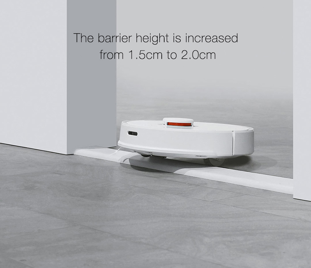 INTERNATIONAL VERSION XIAOMI MIJIA ROBOROCK VACUUM CLEANER 2 AUTOMATIC AREA CLEANING 2000PA SUCTION 2 IN 1 SWEEPING MOPPING FUNCTION 256393 14