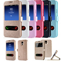 Luxury Flip Wallet Case Cover for Samsung Galaxy S4 / S5 / S6 / S6edge / S7 / S7edge Case Cover with Kickstand for Note 3 4 5