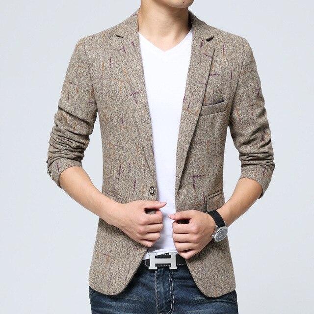 7ad8c33c18f7 Hommes Chinois Style Hommes Vestes Hommes Veste de Costume Hommes de Mode  Haut de gamme Tempérament