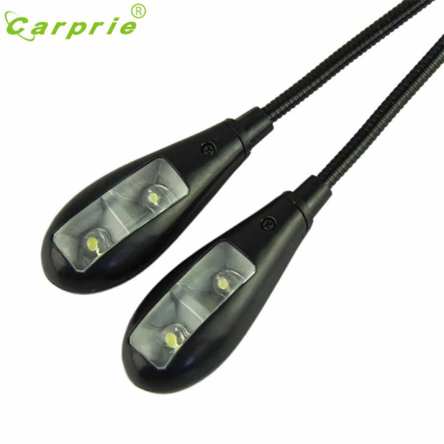 CARPRIE Регулируемый изогнутый зажим на светодиодный светильник для музыкальной подставки и чтения книг l70201 Прямая поставка A30