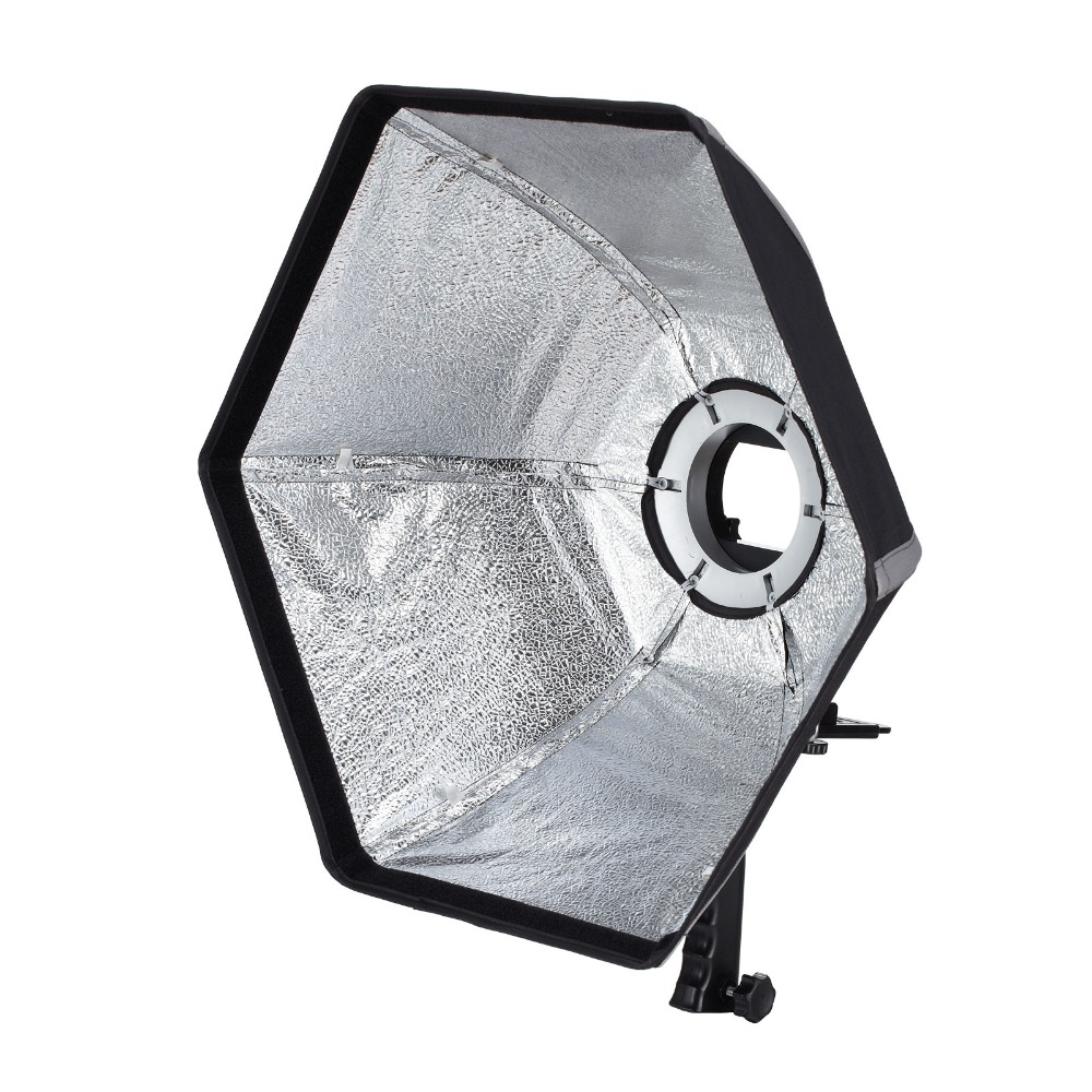 Selens photographic Soft box 20 50cm Collapsible Hexagon Softbox with L Shape Adapter Ring Photo Studio