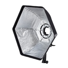 Selens photographic Soft box 50cm Hexagon Softbox with L-Sharp Adapter Ring Photo Studio Accessories