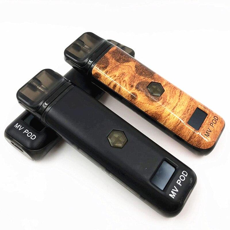 Kit de Cigarette électronique d'origine avec batterie intégrée 450mAh capacité 2ml 510 fil Vape Mod