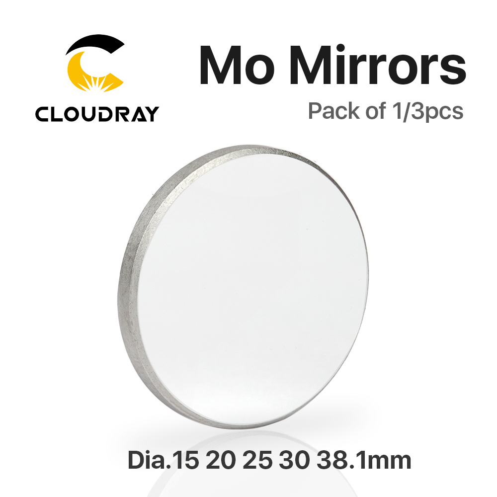 Mo Mirror Diameter 15 19.05 20 25 30 38.1mm Thickness 3mm for CO2 Laser Cutting Engraving Machine high quality co2 laser machine reflector mo mirror diameter 20mm thickness 3mm