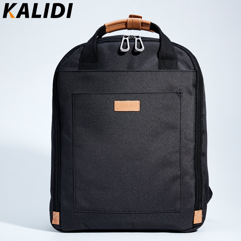 KALIDI Men's Canvas Backpack Casual Backpack for Teenage Student School Backpack Laptop Backpack for Mackbook 13.3-15.6 inch canvas backpack women for teenage boys school backpack male