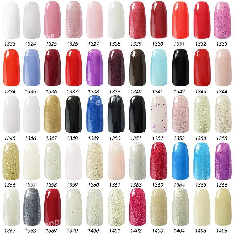 Hot Sale 15ml Gelpolish Choose 6 Colors UV Color Nail Gel Colors For ...