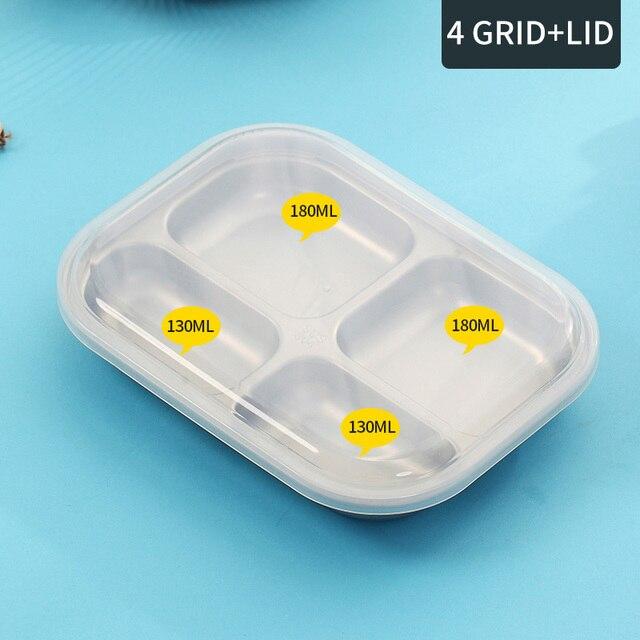 4 Compartments Cheap bento boxes wooden 5c6479e2ed529