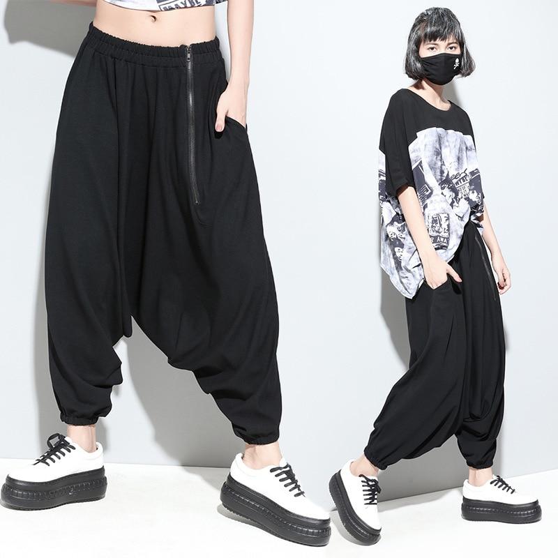 American fashion women's harem pants hanging crotch pants collapse was thin big yards loose pants type wholesale trade