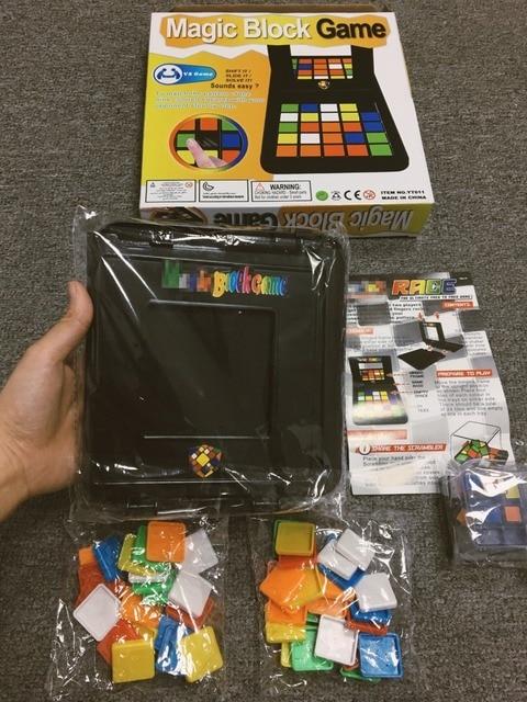 Cubo di Puzzle 3D Di Puzzle Gara Cubo Gioco Da Tavolo Per Bambini Adulti Giocattolo Educativo