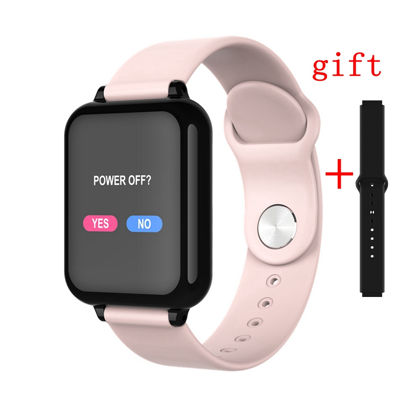 women B57 smart watch waterproof heart rate monitor blood pressure multiple sport mode smartwatch men For IPhone samsung(China)