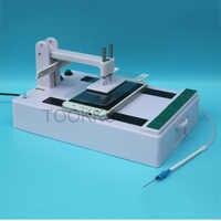 Gehärtetem Glas Stahl Film Laminieren Maschine Universal Automatische Glas Screen Protector Film laminator Für Telefon Reparatur Shop
