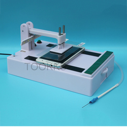 Tempered Glass Steel Film Laminating Machine Universal Automatic Glass Screen Protector Film laminator For Phone Repair Shop
