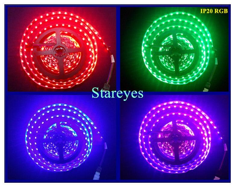 Светодиодная лента 5 м 10 м 15 м 20 м 25 м 30 м SMD 5050 RGB RGBW 300 светодиодный 12 В IP20 IP65 водонепроницаемая гибкая лента светодиодный набор лент