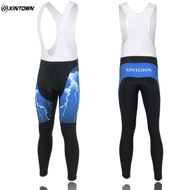Xintown azul pantalones bicicleta de la bici de ciclo de los hombres  pantalones pantalones pantalones ajustados ca1ddecf9210